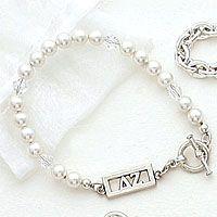 *Bar bead bracelet!*
