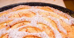 Apfel-Eierlikör-Kuchen mit Marzipan - Kuchenrezepte mit Eierlikör | Verpoorten