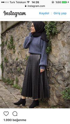 64 Super Ideas For Boats Outfit Skirt Blouses Modern Hijab Fashion, Muslim Fashion, Trendy Fashion, Casual Hijab Outfit, Hijab Chic, Skirt Fashion, Fashion Outfits, Sunday Outfits, Modest Outfits
