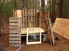 DIY Pallet Chicken Coop Plans   99 Pallets