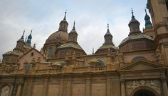 Basilica of Our Lady of the Pillar, Zaragoza, Spain