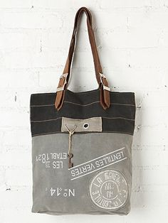 Free People Washed Fielder Tote