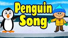 Penguin Song by The Learning Station: Your children will love this animated version of this action, dance song! It's perfect for brain breaks, indoor recess, morning meeting and circle time. Also, it's perfect for your theme on penguins!