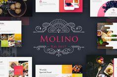Presentation Templates: BrandEarth - Molino - Food Presentation