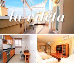 Un ático de 100 m2 en La Vileta con terraza, piscina comunitaria, (y muchas cosas más) que puedes conocer haciendo clic aquí: http://www.fincasfiol.com/la-vileta/ #palma #mallorca #casas