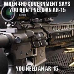 For enemies foreign and domestic -  AR-15 home defense for patriotic Americans is standard :)