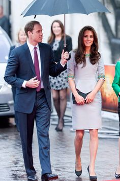 The Duke & Duchess of Cambridge - Prince William and Kate Middleton - African Cats Premiere - Marie Clarie - Marie Claire UK