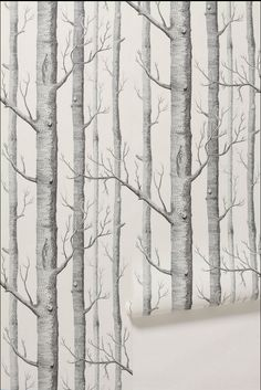 beibehang Birch Tree pattern non-woven wood wallpaper roll modern wall paper simple wallpaper for living room papel de parede Tree Wallpaper Bedroom, Birch Tree Wallpaper, Forest Wallpaper, Home Wallpaper, Wallpaper Roll, Wallpaper Ideas, Print Wallpaper, Nursery Wallpaper