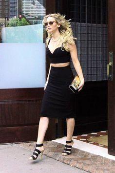 Everything Black Jennifer Lawrence Outfit