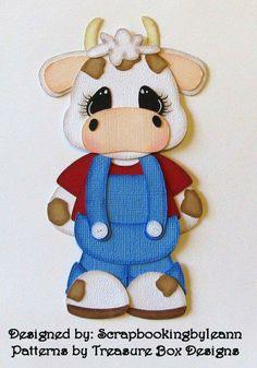 Scrapbookingbyleann Designs: New Pig & Cow Paper Piecings Paper Punch Art, Punch Art Cards, Paper Art, Foam Crafts, Paper Crafts, Crochet Cow, Cow Art, Cute Clipart, Paper Piecing Patterns