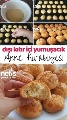 Pasta Recipes, Bread Recipes, My Favorite Food, Favorite Recipes, Pasta Cake, Biscuits, Salty Foods, Turkish Recipes, Sweet And Salty