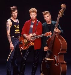 Stray Cats ... who could forget the cool Stray Cat Strut????