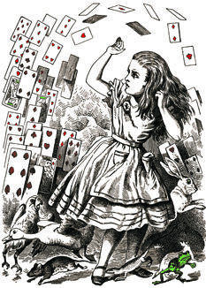 """""""'What is the use of a book without pictures?' wondered Lewis Carroll's Alice..."""" Sam Sacks urges the return of the illustrated novel: http://nyr.kr/13ttzsy"""