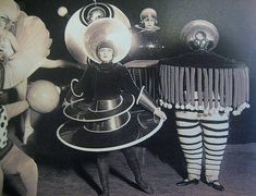 ♕ Vintage Costume Variations ♕  early sci-fi gettups