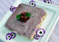 Trénink na léto: Zmrzlinový polárkový dort se sekaným karamelem Goodies, Frozen, Ice Cream, Tv, Tableware, Cake, Desserts, Food, Sweet Like Candy