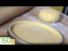Recette de la Pâte à tarte Express - 750g - YouTube Barbecue, Dairy, Pudding, Bread, Cheese, Food, Quiche Originale, Chef Damien, Danielle Brooks
