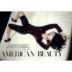 Harper's Bazaar UK Editorial American Beauty, February 2009 ❤ liked on Polyvore