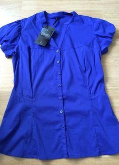 Kup mój przedmiot na #Vinted http://www.vinted.pl/kobiety/koszule/9765187-koszula-chabrowa-kobaltowa-stradivarius-xl