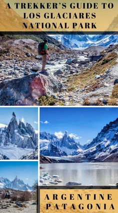 A trekker's guide to Los Glaciares National Park, Argentine Patagonia. As we're currently on a mission to take on and complete the Top 100 Travel Adventures in the World, we decided to finally make a break for South America and chase some of those adventures.Hiking in Los Glaciares National Park in Argentine Patagonia makes the list because a visit to Patagonia wouldn't be complete without getting up close and personal with Fitz Roy and Cerro Torre. Click to read more #Patagonia…