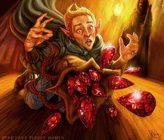 Dragon Tears for Talisman by *feliciacano on deviantART