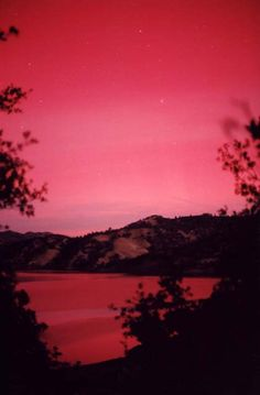 Aurora in Napa and at Lake Berryessa in Northern California