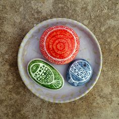 painted stones, airbrush ink, marble paper pigments...Zeustones atelier
