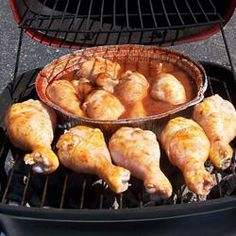 Grilled Buffalo Wings from | allrecipes.com