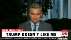 CNN Reporter Cries After Being Seated in Back Row at Trump Press Confere...