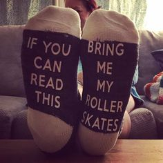 Had create me some custom socks today. Derby Skates, Quad Skates, Speed Skates, Roller Derby Girls, Roller Disco, Custom Socks, Skater Girls, Roller Skating, Figure Skating