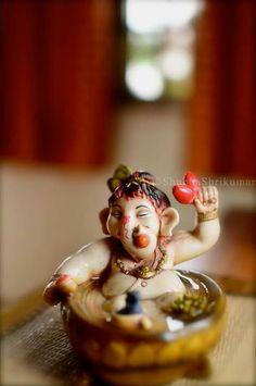 Jai Ganesh, Ganesh Lord, Krishna Statue, Shree Ganesh, Clay Ganesha, Ganesha Painting, Ganesha Art, Shri Ganesh Images, Ganesha Pictures