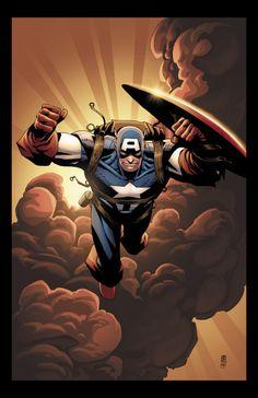 Captain America by Khoi Pham