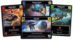 Star Realms is a spaceship combat deckbuilding game designed by Magic: the Gathering Pro Tour Champions and Hall of Famers Darwin Kastle and Rob Dougherty. 2 players with playing time +/- 45 minutes