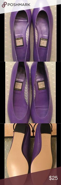 Size 8.5 Narrow Nina purple flats Cute purple flats. EUC. 8.5 narrow width. Nina Shoes Flats & Loafers