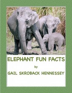 April 16th is Save the Elephant Day(also called World Elephant Day!).Share fun elephant facts with kids: https://www.teacherspayteachers.com/Product/Elephant-Fun-Facts-1793743 Check out my web quest on the elephant: https://www.teacherspayteachers.com/Product/ElephantsOn-SafariA-Webquest-610125