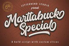 Marttabuck Script 40%OFF by letterhend on @creativemarket