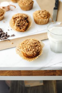 Saturday Mix   Chocolate Chunk + Coconut Banana Crumb Muffins