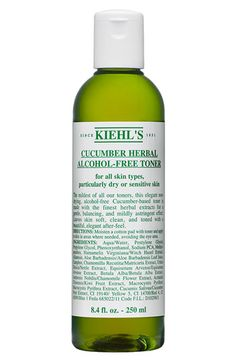 Kiehl's Since 1851 Cucumber Herbal Alcohol-Free Toner available at #Nordstrom