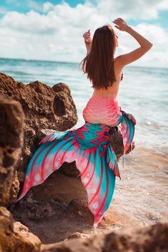 Fin Fun Mermaid Tails, Mermaid Cove, Mermaid Hair, Professional Mermaid, Ocean Horizon, Mermaid Pictures, Real Mermaids, Pirates Of The Caribbean, Coral