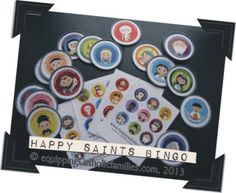 7+ different takes on Catholic SAINTS! (and Happy Saints Bingo)