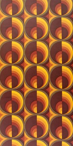 retro wallpaper vintage pattern print Original Vintage Wallpaper in brown and orange vintage-tapeten. 70's Wallpaper, Vintage Wallpaper, Pattern Wallpaper, 70s Aesthetic, Aesthetic Vintage, Peter Et Sloane, Tapetes Vintage, 3d Foto, Motif Vintage