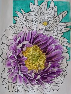 Creative Haven In Full Bloom Coloring Book (Creative Haven Coloring Books): Ruth Soffer,  Really fun with watercolor pencils  By Mary Ingold on Aug 16, 2015