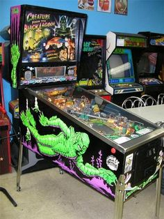 CREATURE FROM THE BLACK LAGOON Pinball Machine, On the Wish List