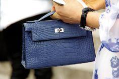 Must Have - Hermès Alligator Kelly Pochette - Marquis de Lannes