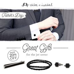 Enjoy exclusive savings on all men's accessories! Visit cleonyc.com for details