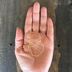 Brass Hoops with line - time to treat yourself? Geometric Circle, Geometric Shapes, Geometric Jewelry, Line, Gold Earrings, Brass, Texture, Jewellery, Simple