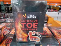 "Camping Hiking Gear and Outfit :""Little Hotties Adhesive Toe Warmers : 30 Pairs"" ** Quickly view this special product, click the image Camping And Hiking, Hiking Gear, Camping Gear, Little Hotties, Toe Warmers, Outdoor Survival, Adhesive, Pairs, Cold"