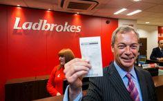 Ezer fonttal fogadott a Brexitre a UKIP-vezér | Breuerpress International