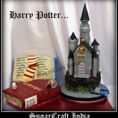 Harry Potter Castle Cake on Cake Central