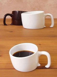 Sinking coffee cups