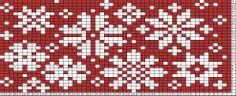 Tricksy Knitter Charts: Snowfling Sweater Chart